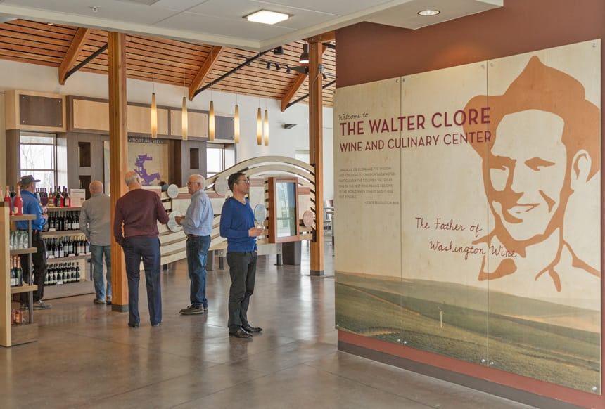 The Walter Clore Wine & Culinary Center is at 2140A Wine Country Road in Prosser. (File photo)