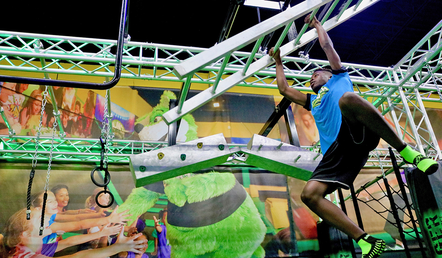 A large indoor family fun center called Launch Trampoline Park is planned in Kennewick that will include more than jumping, including laser tag, a ninja course and a bowling alley. (Courtesy Will McKay)