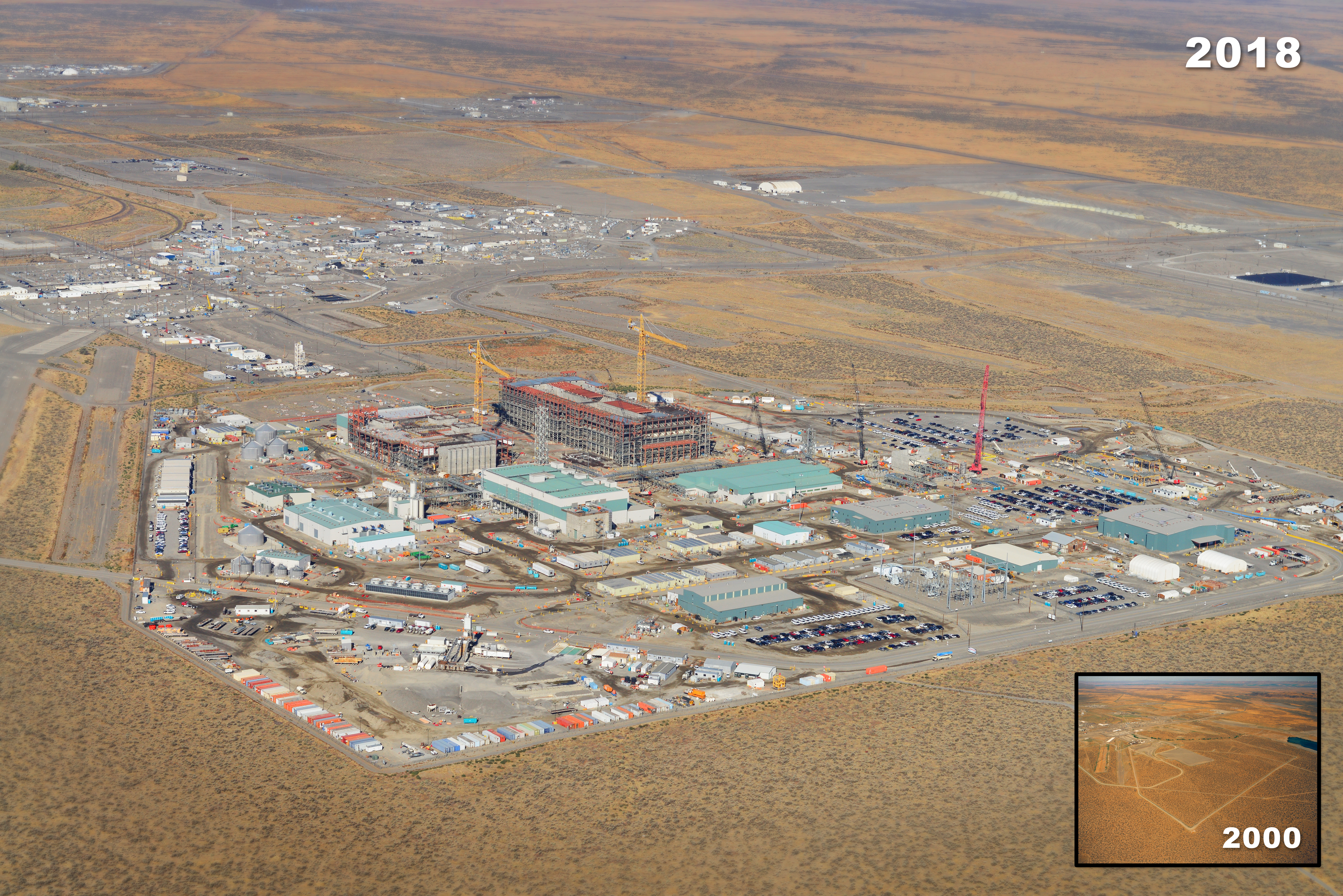 Hanford's Waste Treatment and Immobilization Plant is preparing to start treating tank waste as early as 2022. (Courtesy U.S. Department of Energy)