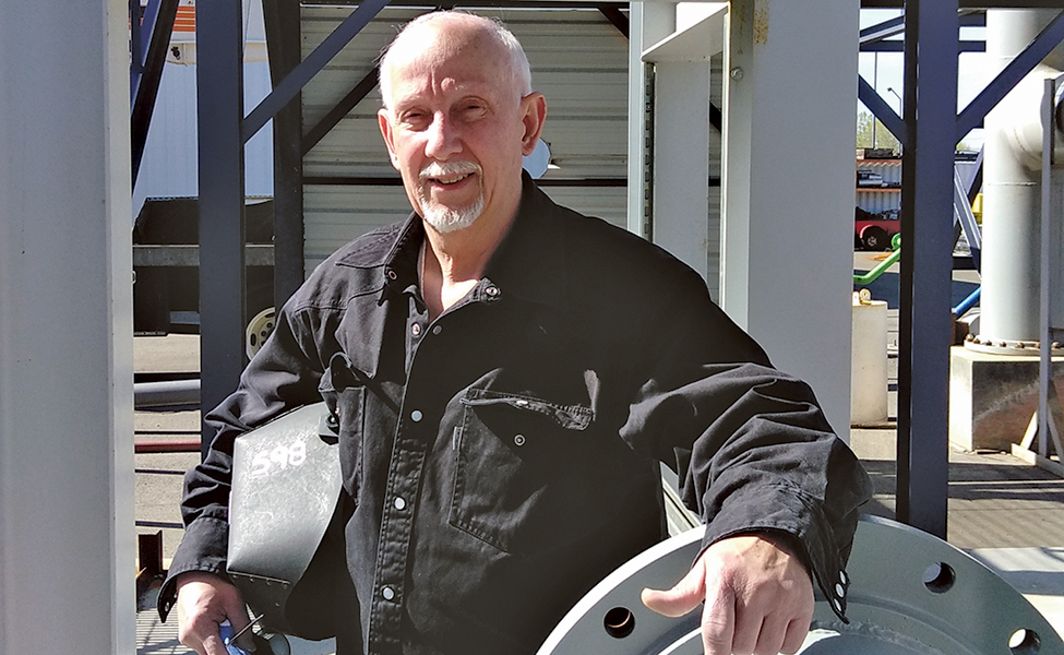 Kennewick chiropractor Bob Tollison, 65, plans to retire later this year and pursue an encore career as a welder. (Courtesy Bob Tollison)