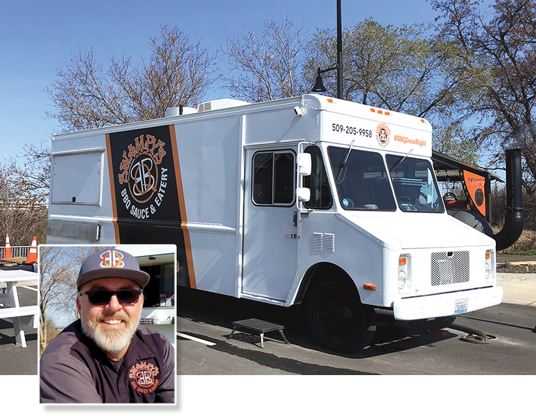 Ron Swanby, owner of Swampy's BBQ Sauce & Eatery, says it's time for the region's food truck operators to unite and advocate for their industry. (Photo by Wendy Culverwell)