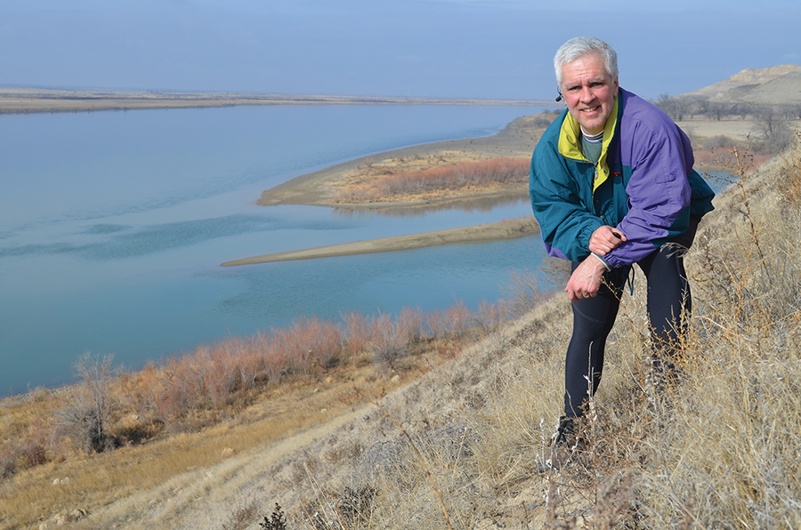 The White Bluffs area north of the Tri-Cities is one of Paul Shoemaker's favorite places to hike. The West Richland man runs a website featuring a list of more than 50 local hikes. (Courtesy Hike Tri-Cities)
